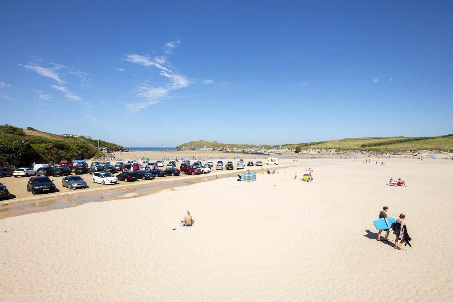 Porth Beach - 20 Of The Best Beaches In Cornwall.