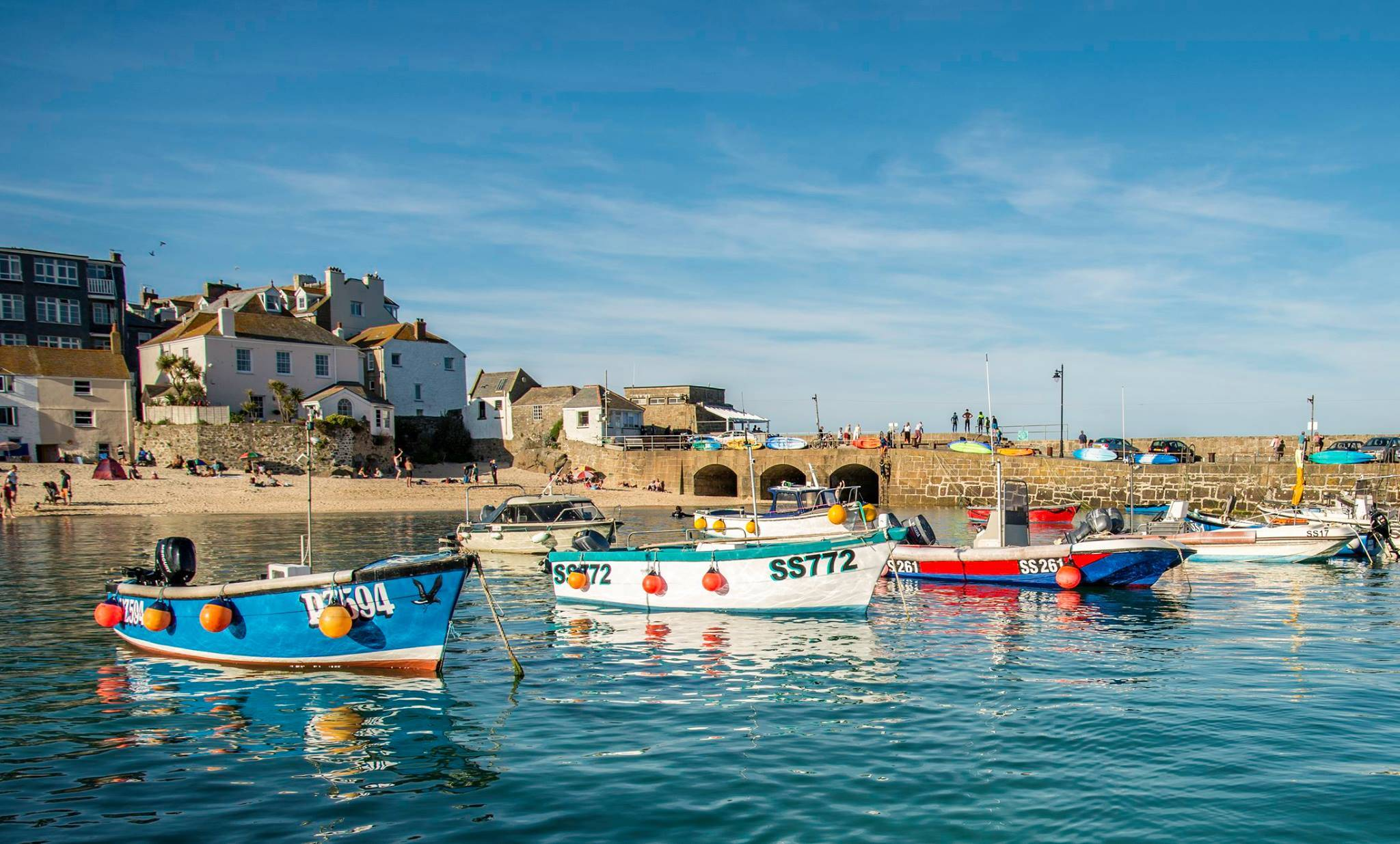 St Ives Harbour Beach - 20 Of The Best Beaches In Cornwall