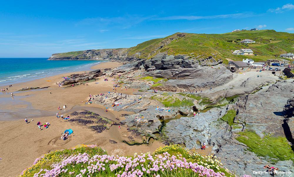 Trebarwith Strand Beach - 20 Of The Best Beaches In Cornwall