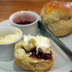 A cream tea, made the correct way