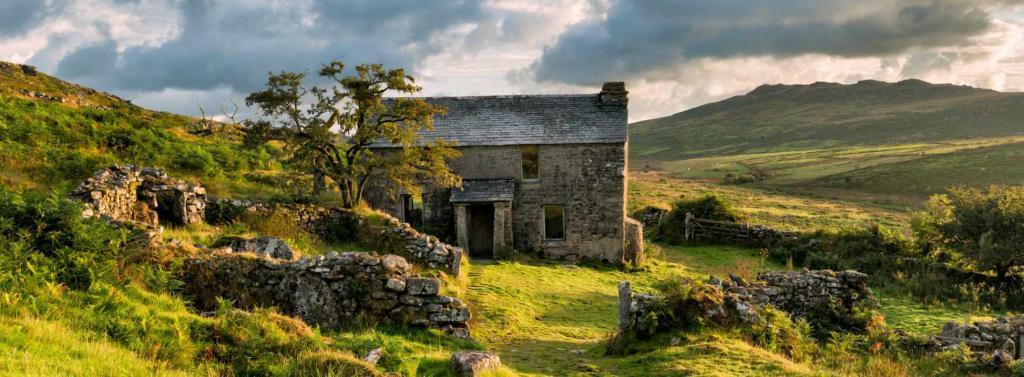 Old cottage on Bodmin moor