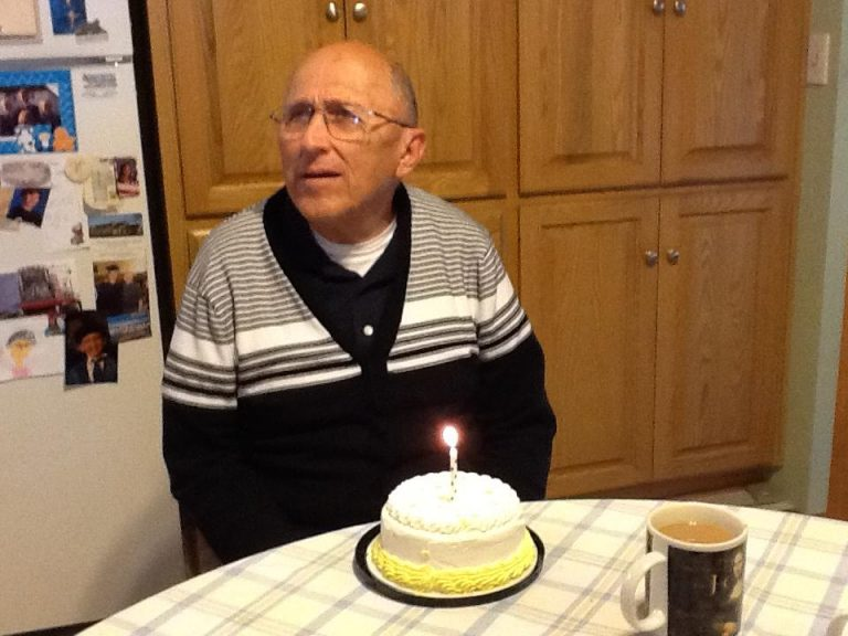 A 70 Year Old Grandad With Alzheimer's Learns It's His Birthday. His Reaction Is Priceless.