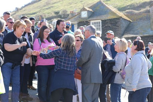 Clunes has been signing autographs and taking pictures with fans (Image: Simon Heester)