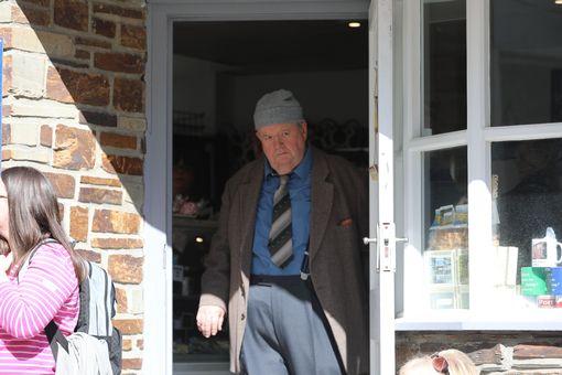 Ian McNeice is back as Bert Large (Image: Simon Heester)