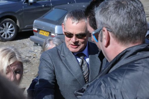 Martin Clunes in Port Isaac (Image: Simon Heester)