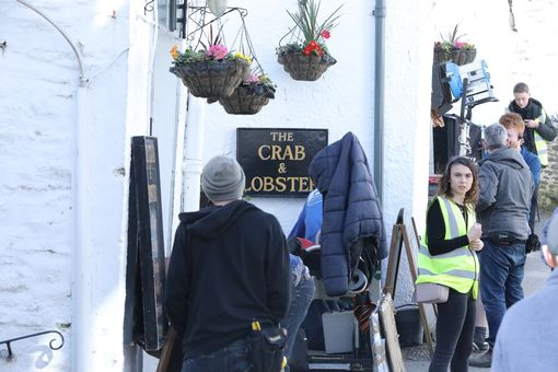 The Crab and Lobster is open for business (Image: Simon Heester)