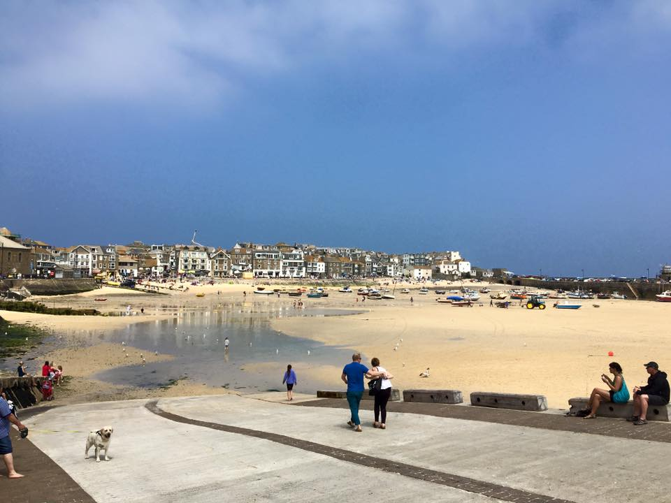 St Ives sandy harbour