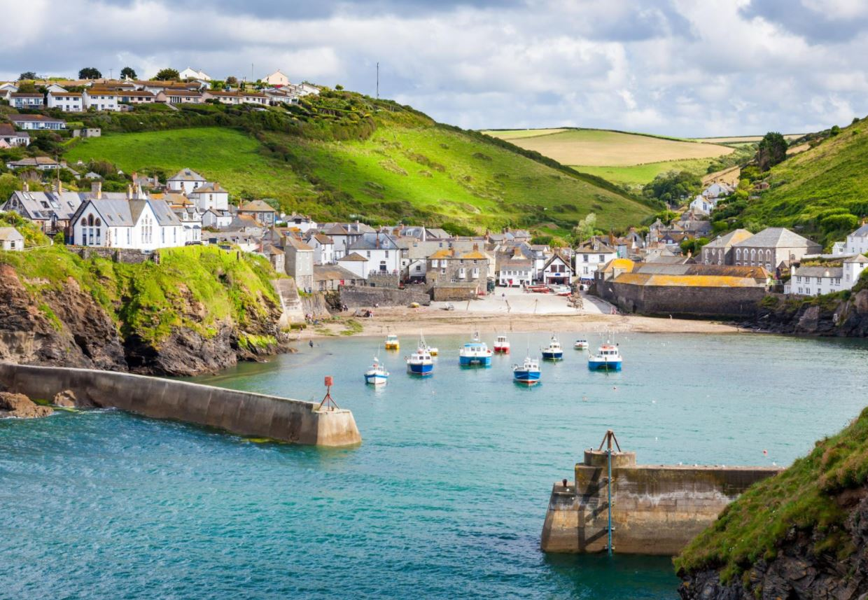 The fishing village of Port Isaac