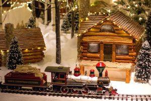 December in Cornwall - Christmas train