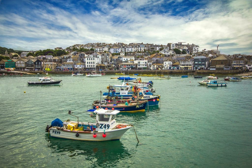 St Ives | Pretty towns in Cornwall