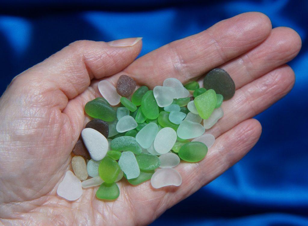 Beach Glass Cornwall