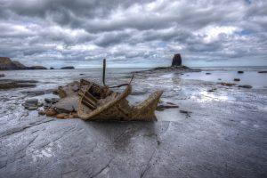 Holywell Bay Shipwreck